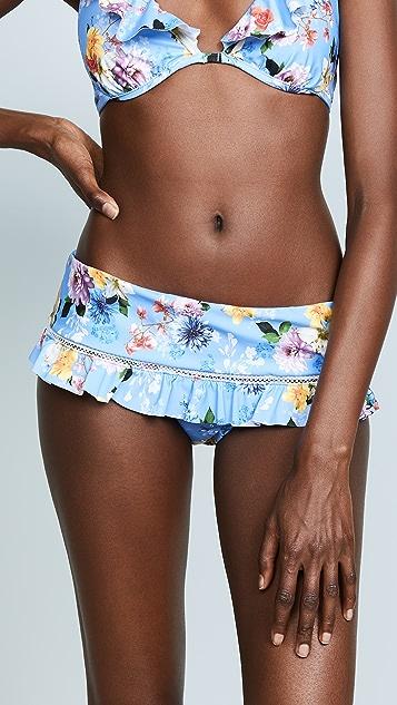 Nanette Lepore Monaco Bouquet Sweetheart Bikini Bottoms