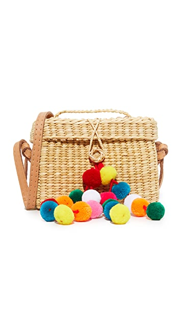 Nannacay Baby Roge Pom Pom Bag - Multi