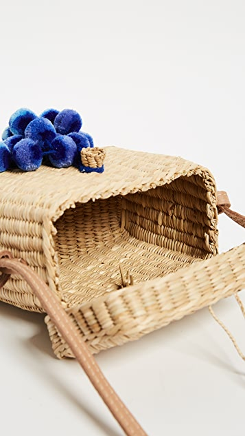 Nannacay Small Roge Pom Pom Bag