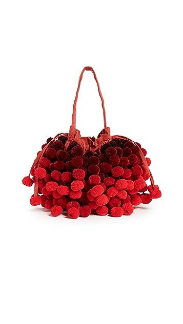 Nannacay Charlotte Pom Pom Bucket Bag