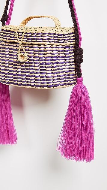 Nannacay Kiki Small Rope Handle Bag