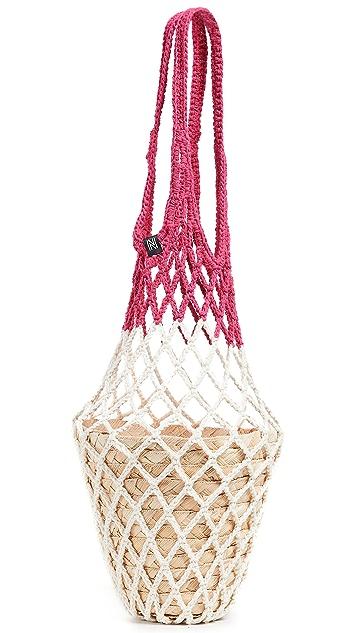 Nannacay Kauai 渔网手提袋