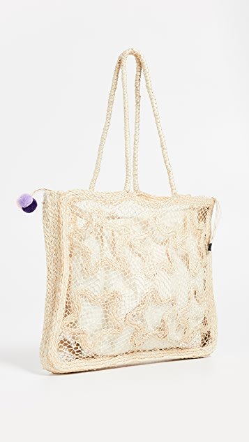 Nannacay Starfish Bag - Straw