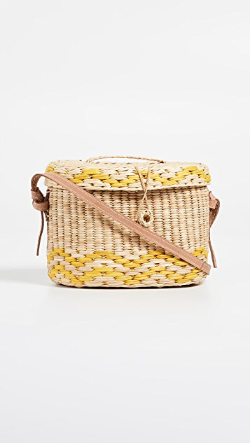 Nannacay Kiki Medium Moala Strap Bag - Yellow