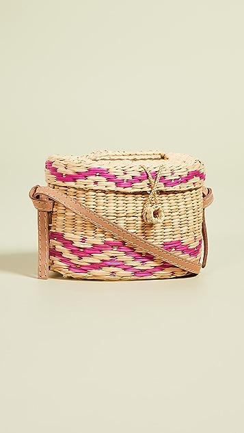 Nannacay Kiki Small Pali Strap Bag - Pink