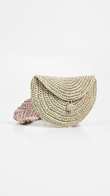 Nannacay Peike Pochete  Macrame Belt Bag