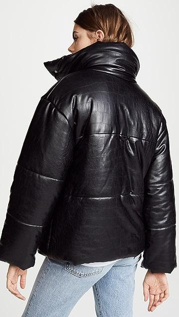Nanushka Hide Puffer Jacket