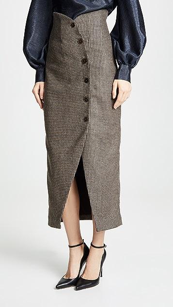 Sari Skirt by Nanushka