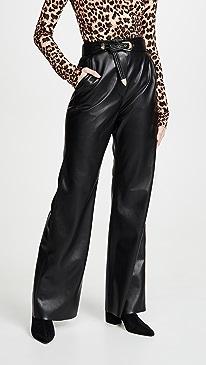 Kisa Vegan Leather Pants