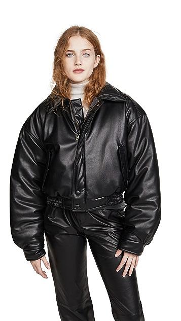 Nanushka Bomi Bomber Jacket