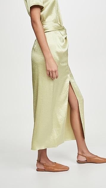 Nanushka Samara Satin Skirt