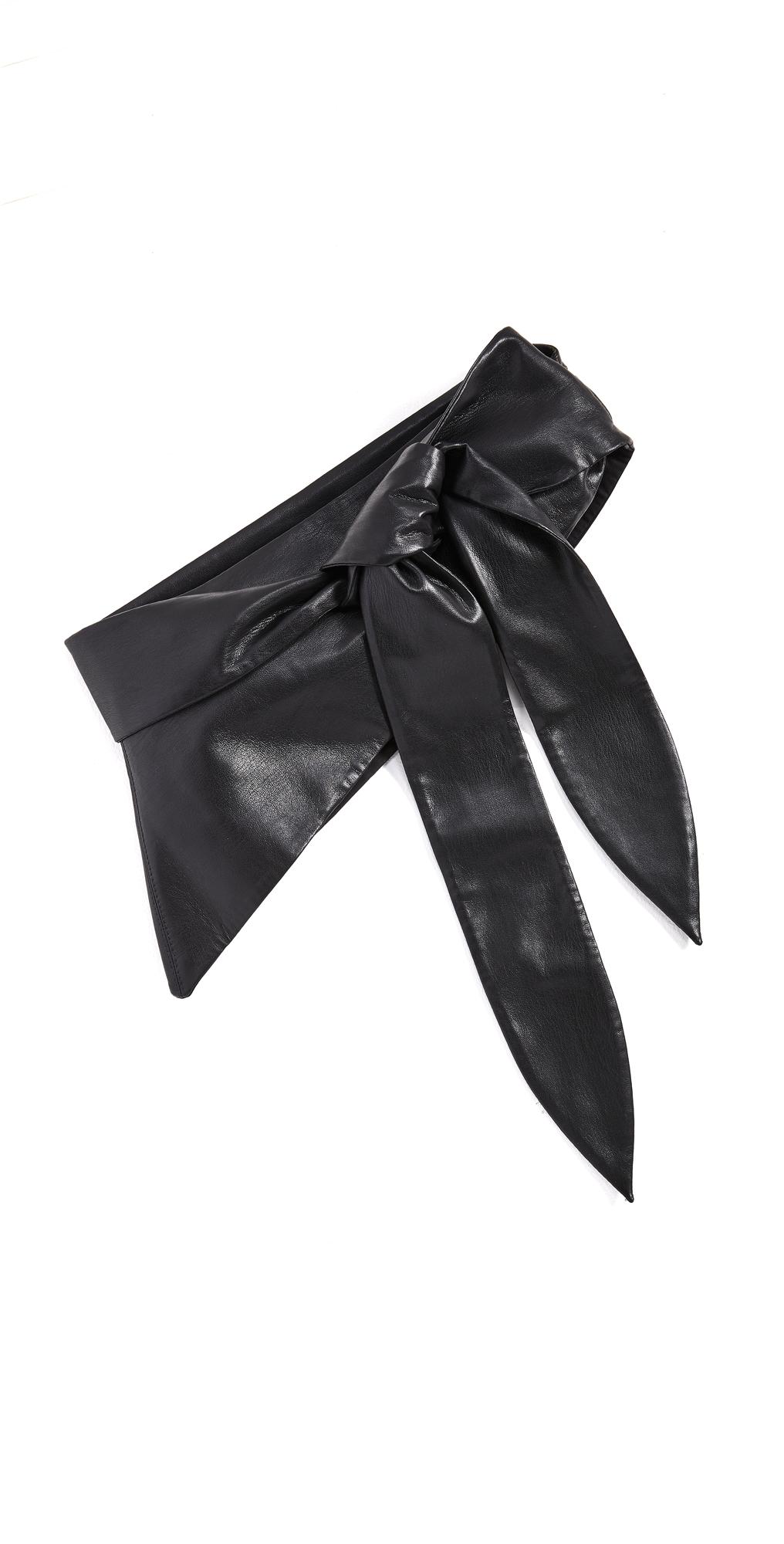 Nanushka Phoebe Vegan Leather Belt