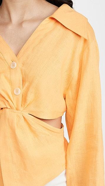 Nanushka Rasha 衬衫