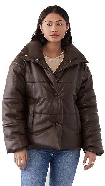 Nanushka Hide 夹棉外套