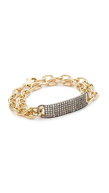 Nathan & Moe Coco Double Wrap ID Bracelet