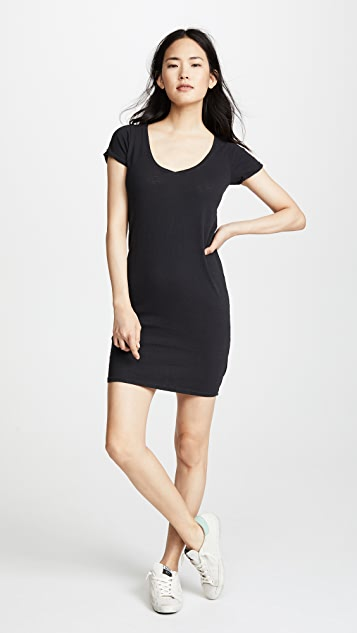Nation LTD The New V T-Shirt Dress