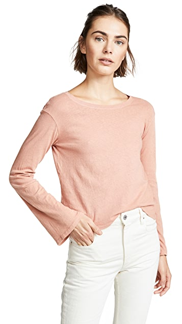 Nation LTD Uma Boxy Bell Sleeve Tee