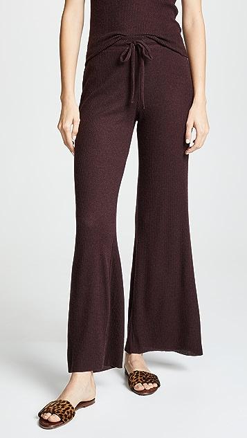Nation LTD Westside Ribbed Knit Pants