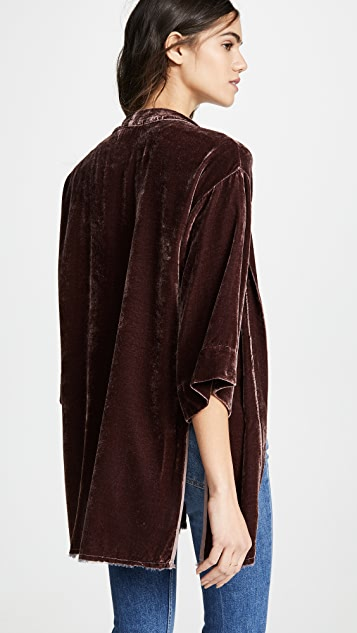 Nation LTD Winslow Velvet Bed Jacket