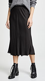 Nation LTD Mabel Bias Cut Slip Skirt