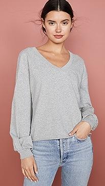 Willa Bishop Sleeve Cocoon Pullover