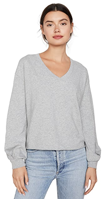 Nation LTD Willa Bishop Sleeve Cocoon Pullover