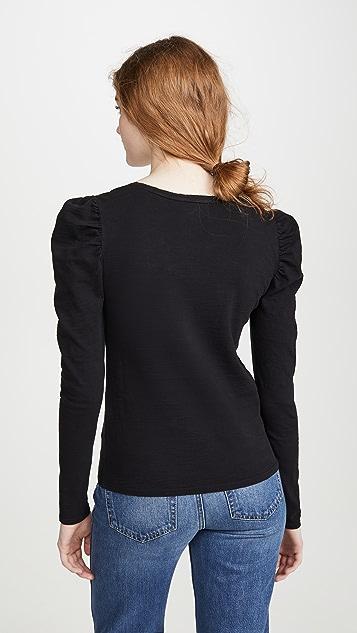 Nation LTD Elzabeth 泡泡袖 T 恤