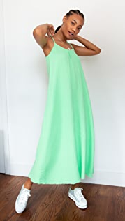 Nation LTD Lila Scoop Trapeze Gause Dress