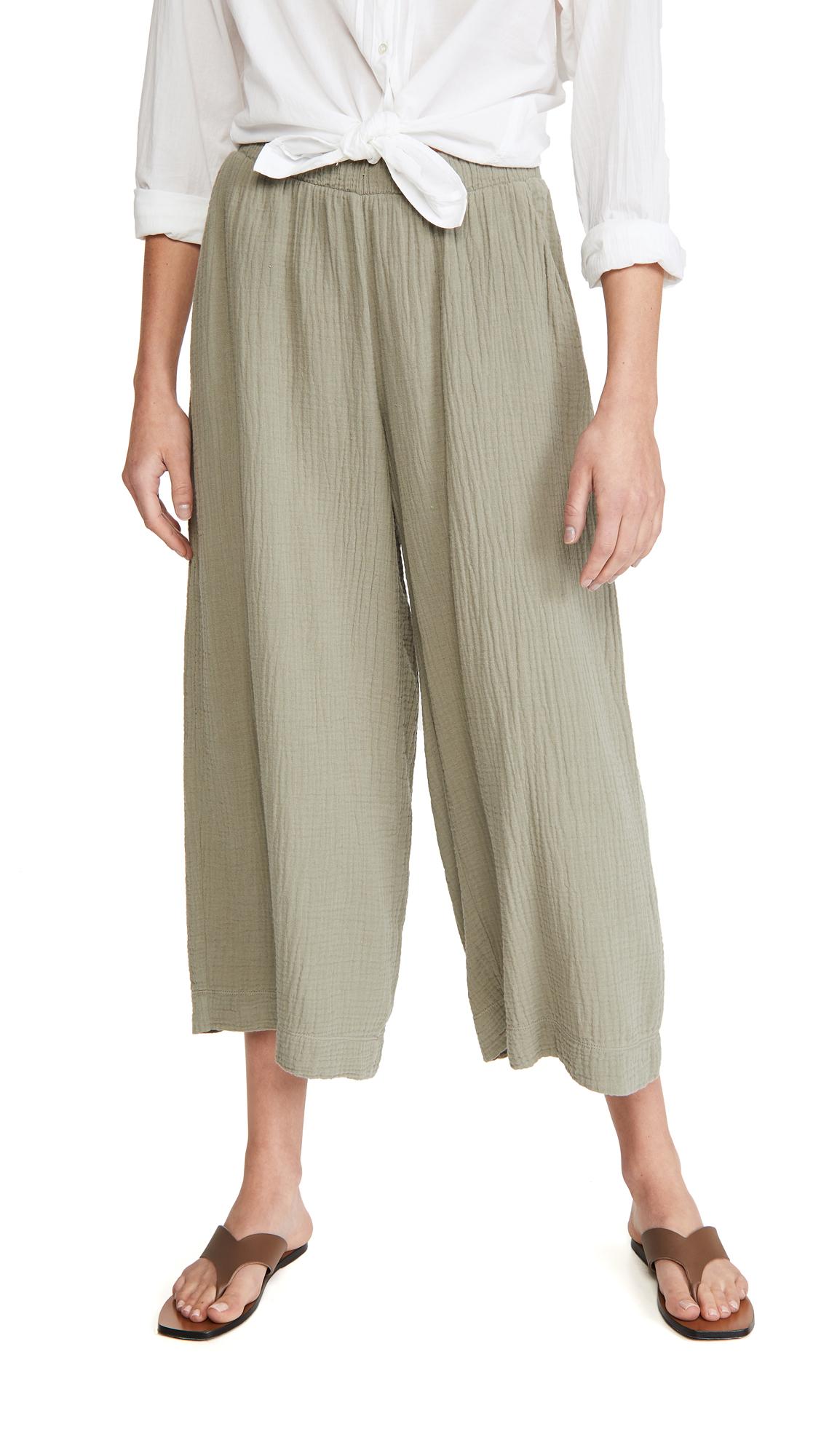 Nation LTD Palermo Wide Leg Gauze Pants