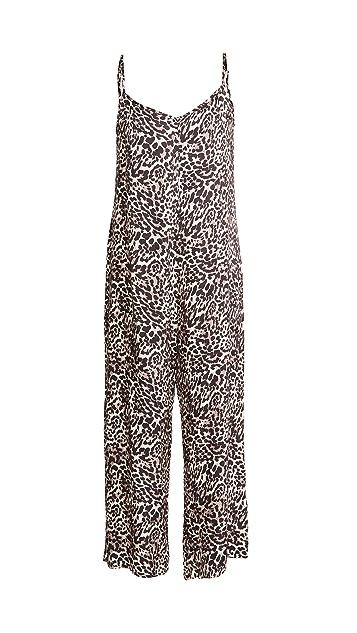 Nation LTD Pippa Leopard Jumpsuit