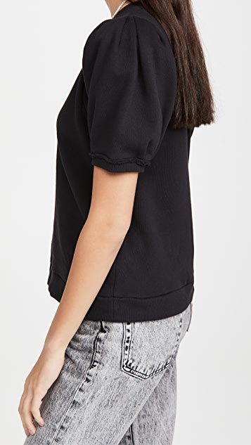Nation LTD Pamina Puff Sleeve Sweatshirt