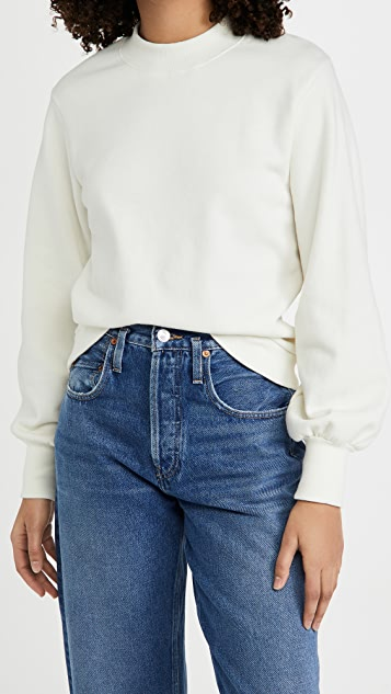 Nation LTD Suky Mock Neck Sweatshirt