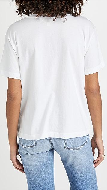 Nation LTD Nina 复古版型 V 领 T 恤