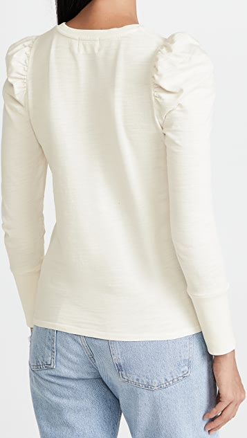 Nation LTD Clementine Delicate Ruffle Top
