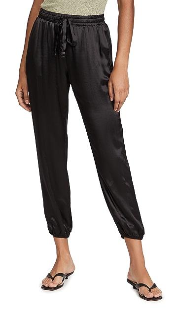 Nation LTD Del Rey Satin Dressed Up Pants