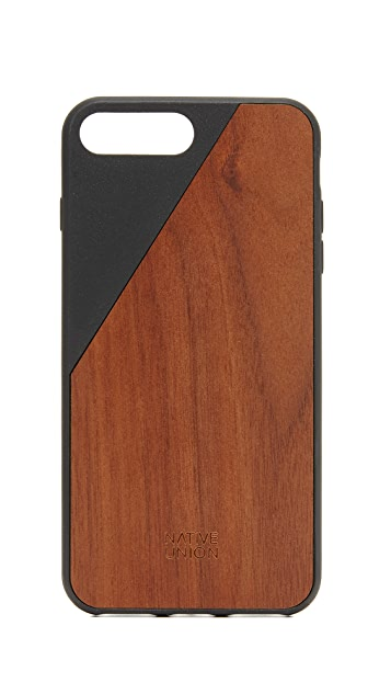 Native Union Clic Wooden iPhone 7 Plus / 8 Plus Case
