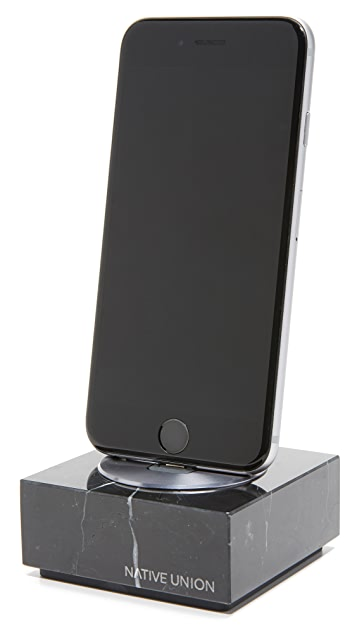 Native Union Marble iPhone Dock
