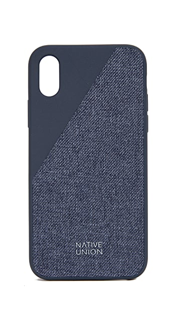 Native Union Clic Canvas iPhone X / XS Case