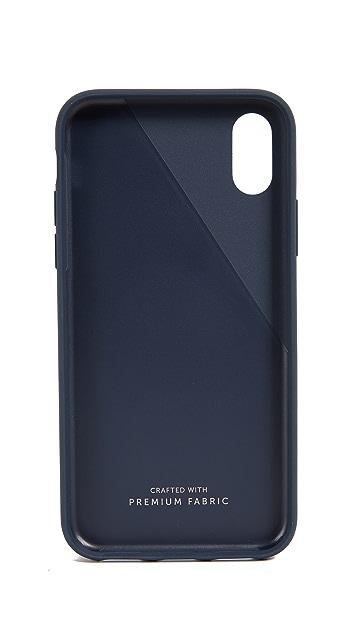 Native Union Clic Canvas iPhone X / XS Case