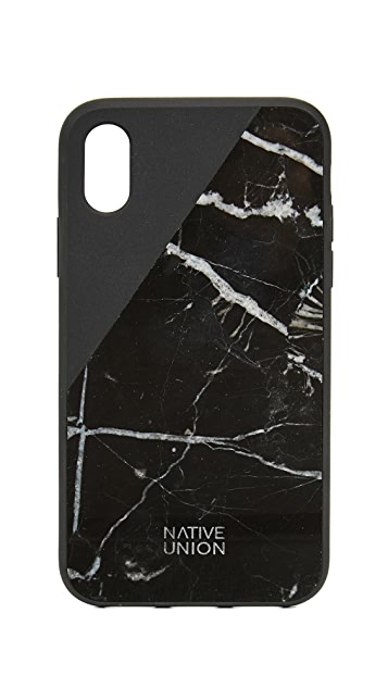 Native Union Clic Marble iPhone X Case