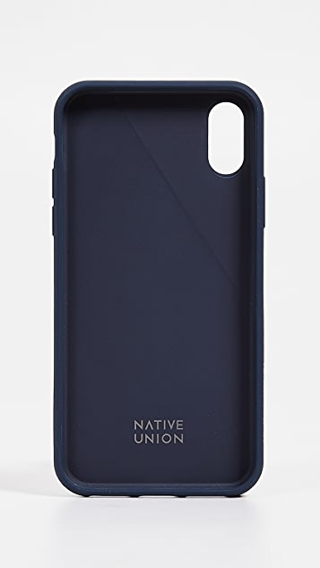 Native Union Clic Canvas iPhone XS / X Case