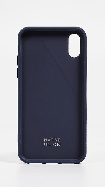 Native Union Clic Canvas iPhone XS / X Case