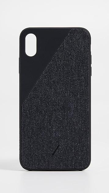 Native Union Clic Canvas iPhone XS Max Case