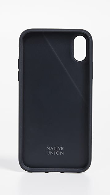Native Union Clic Canvas iPhone XR Case