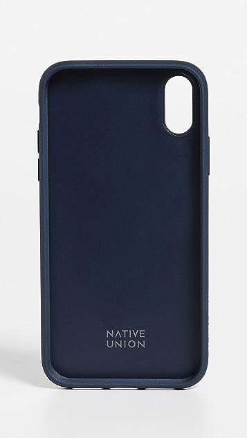 Native Union Clic Canvas iPhone XR Case