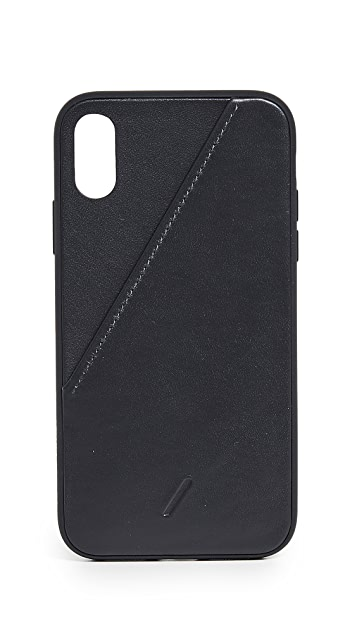 Native Union Clic Card iPhone XR Case