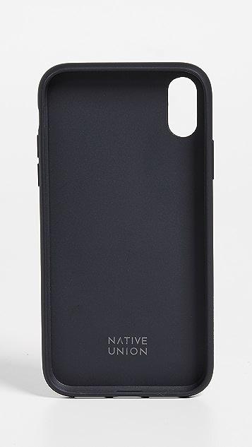 Native Union Clic Card iPhone XR Case