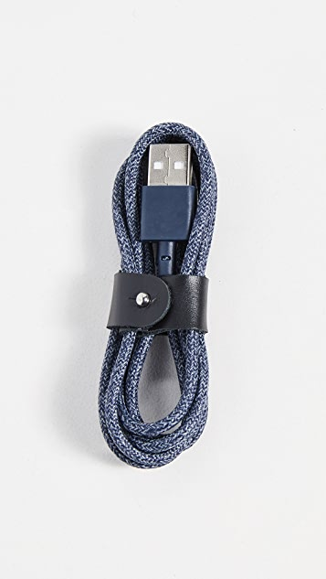 Native Union Lighting Charger 1.2M Belt Cable