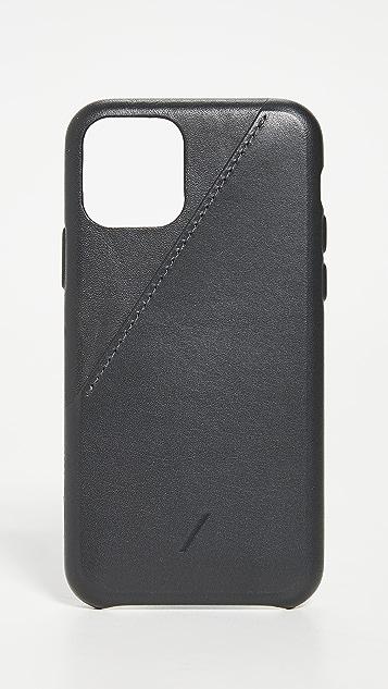 Native Union Clic Card iPhone 11 Pro Case