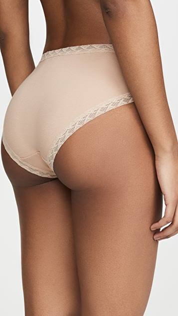 Natori Bliss Cotton French Cut 比基尼短裤